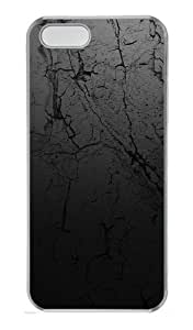 iPhone 5S Cases & Covers - Wall Texture Background Custom PC Hard Case Cover for iPhone 5S and iPhone 5 - Transparent