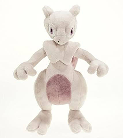 New Center XY Mewtwo Pink Plush Toy Soft Doll 25cm 12in Great Gift (12 In Male Doll)