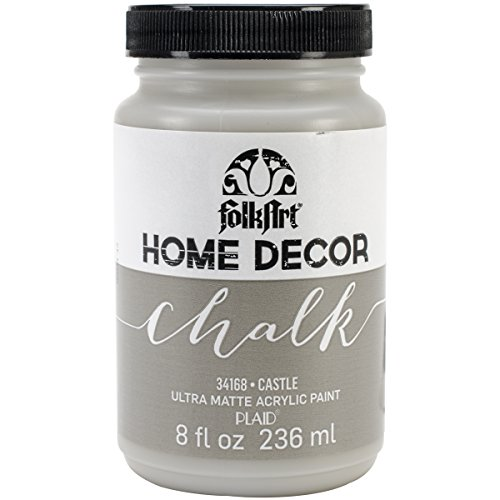 Folkart Home Decor Chalk Paint 8Oz-Castle