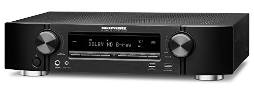 Marantz AV Receiver NR1509 - 50W Powerful Slim Profile 5.2 Channel Home Theater Amplifier, Dolby TrueHD and DTS-HD Master Audio | Alexa Compatible and Stream Music Through WiFi, Bluetooth and Airplay