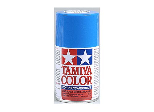 (Tamiya USA TAM86030 PS-30 Brilliant Blue Polycarbonate Spray Paint 100mL)