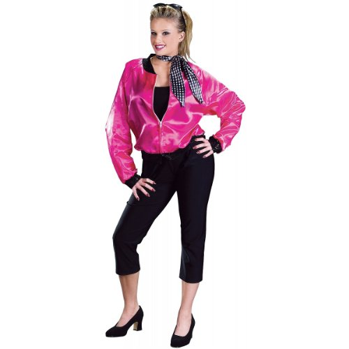 Pink T-Bird Sweetie Costume - Medium/Large - Dress Size (T Bird And Pink Lady Costumes)