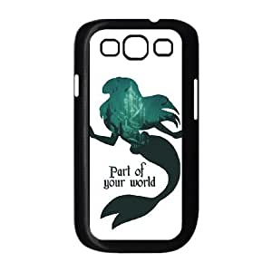 Samsung Galaxy S3 9300 Cell Phone Case Black Ariel Part of your world W4Q4PC
