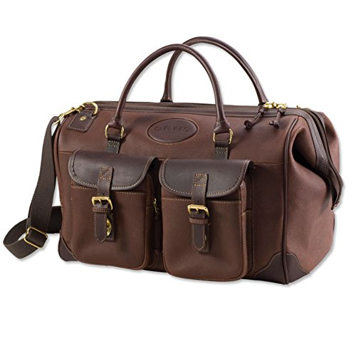 Orvis Bullhide Leather Weekend Carry-on, Brown