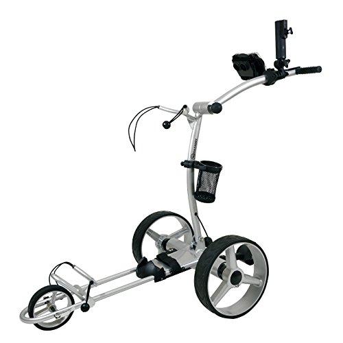 NovaCaddy Remote Control Electric Golf Trolley Cart, X9RD, Silve, 12V Lead-Acid Battery
