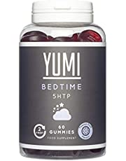 5HTP Bedtime Gummies x 60 | 100mg | Griffonia Extract | Maintain Wellbeing | Vegan | Gluten-Free | Chewable Sleep Supplement | Passion Fruit Flavour |