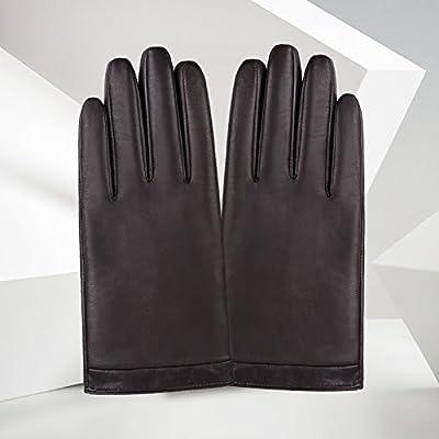 - les gants en cuir de gants de l'automne et de l'hiver tenue anti - skid et chaud