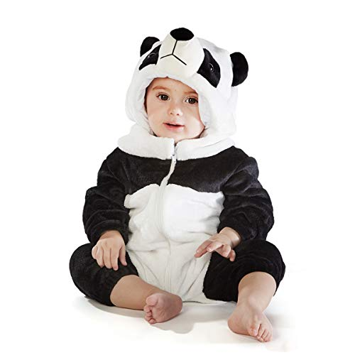 Natural Uniforms Baby Animal Jumpsuit (12-18 Months,