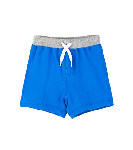 Hatley Baby Boys Mini Pull-On Shorts, Blue Lolite, 18-24 Months