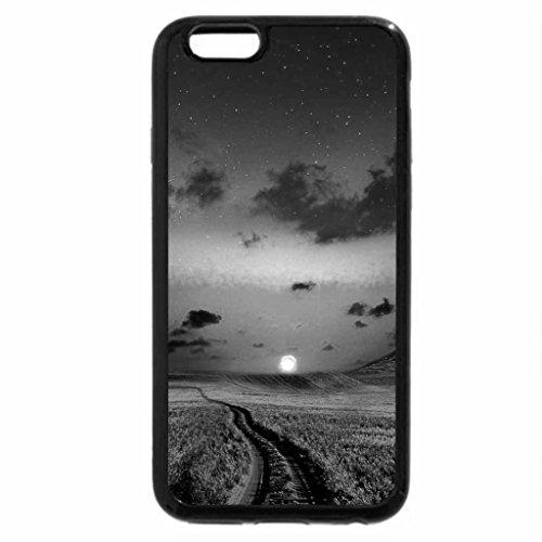 iPhone 6S Case, iPhone 6 Case (Black & White) - PATHWAY to HORIZON