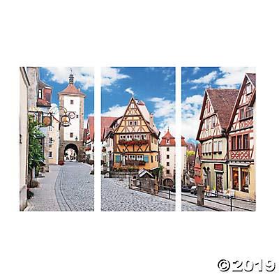 Oktoberfest Backdrop Banner (9 feet long) German Oktoberfest decorations: Toys & Games