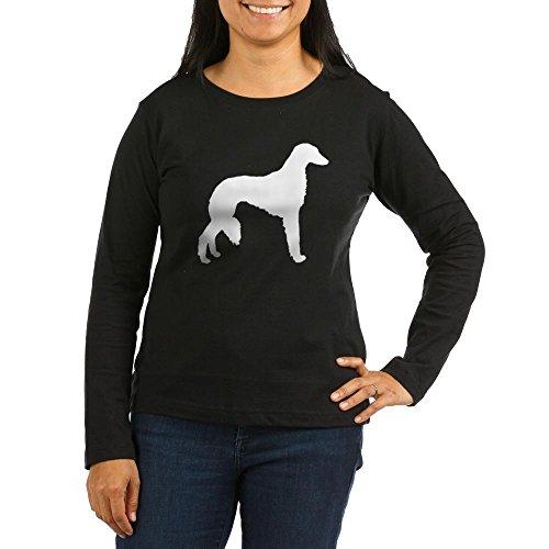 CafePress - Saluki - Women's Long Sleeve T-Shirt, Classic 100% Cotton Crew Neck Shirt Black