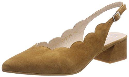 Gadea 40987, Scarpe col Tacco Punta Chiusa Donna Marrone (Ante Camel Camel)