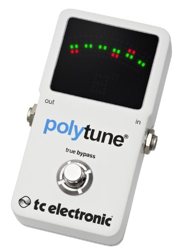 tc electronic polytune 2 pedal tuner by tc electronics at the blues guitar center. Black Bedroom Furniture Sets. Home Design Ideas