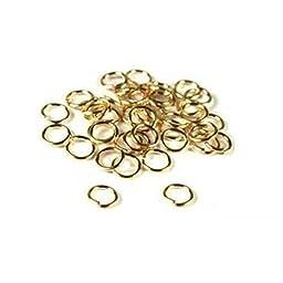 40 14K Gold Filled Jump Rings Open Jewelry 22 Gauge 5mm