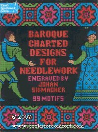 (Baroque charted designs for needlework (Dover needlework series))