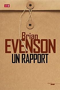 Un rapport par Evenson