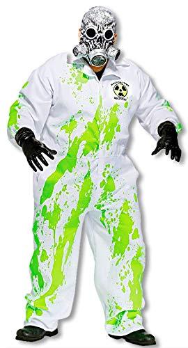 Radioactive Hazmat traje de recuperación de más tamaño ...