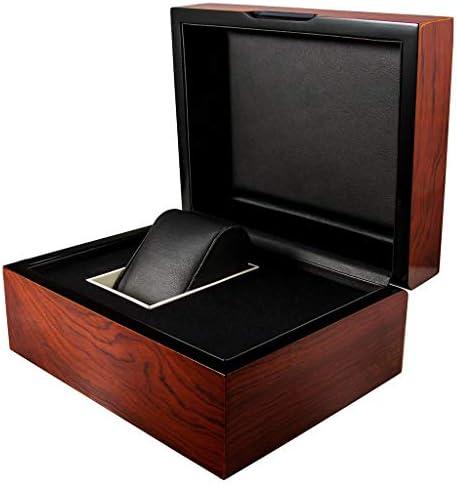 ハイグレードなマホガニーペイント木製腕時計ボックス/ジュエリーボックス誕生日ギフトパーティーギフト