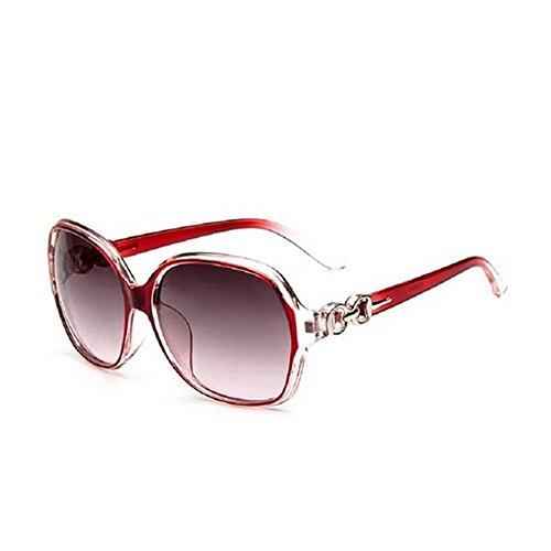 para nbsp;– protección UV400 135 de mujer gran de marco gafas Nikgic sol polarizadas Rouge nbsp;Mode Gafas OgIxq0