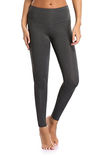 Sunnyhu Women's Fitness Yoga Pants Power Flex Workout Running