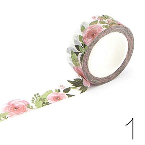 NPLE--New Design 1.5cm×7M DIY Paper Sticky Adhesive Sticker Decorative Washi Tape - Life Zelda Thug