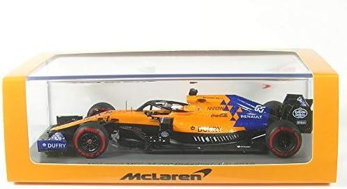 ☆ スパーク 1/43 マクラーレン F1チーム MCL34 2019 F1 ブラジルGP 3位 #55 C.サインツJr. ピ