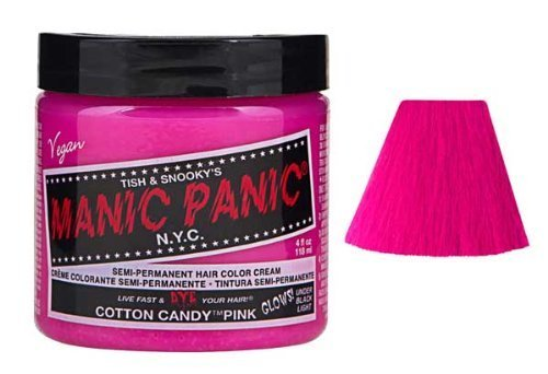 Manic Panic Cotton Candy Pink Semi Permanent Vegan Hair Dye. by Manic Panic