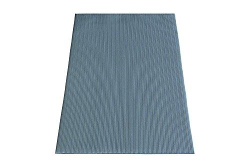 miltex 11030 Bodenmatte Yoga Meter, 91 x 150 cm, grau