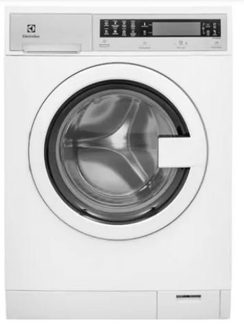Electrolux EFLS210TIW 24″ Compact Washer With IQ-Touch Controls Perfect Steam 2.4 cu. ft. Capacity ExpertCare Wash System Energy Star Certified 1400 RPM in White