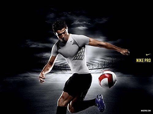 Cristiano Ronaldo (19x14 inch, 47x35 cm) Silk Poster Seta Manifesto PJ16-8118 Wall Station