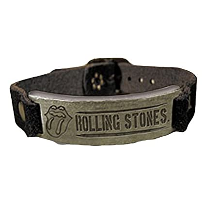 Rolling Stones - Wristband Metal Badge (in 21 cm)