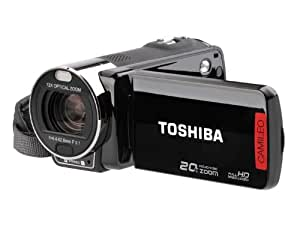 Toshiba Camileo X200 - Videocámara (CMOS, 8 MP, 12x, 60x, digital, Memory card) Negro