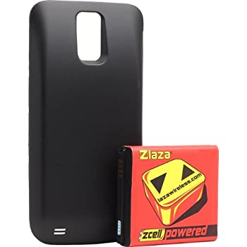 Laza Zcell 3800mah Extended Battery T-Mobile Samsung Galaxy SII S2 t989 Tmobile (DOES NOT FIT OTHER GALAXY S2 MODELS, ONLY T-MOBILE)