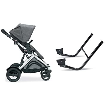 Amazon.com : Britax B-Ready Stroller, Slate and B-Ready Lower Infant ...