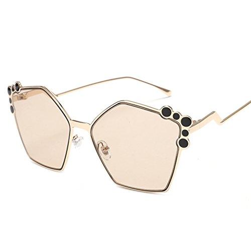sol Gafas Gafas de 1 sol UV Protección Retro Gafas Color Mujer 4 de 100 XwwaSxUF