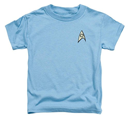 Toddler: Star Trek - Science Uniform Baby T-Shirt Size 4T]()