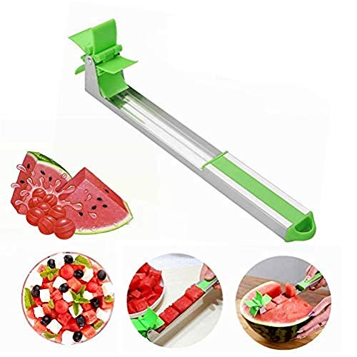 2019 New Windmill Watermelon Slicer Cutter Stainless Steel Watermelon Slicer Cutter Knife Corer Fruit Vegetable Tools