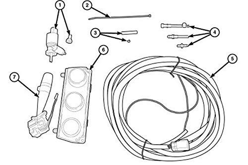 Amazon.com: Jeep Wrangler Mopar Hard Top Wiring Package W/O ... on
