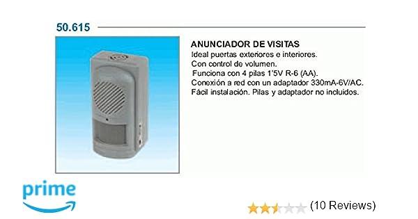 ElectroDH 50615 DH AVISADOR VISITAS-Alarma: Amazon.es: Bricolaje y herramientas