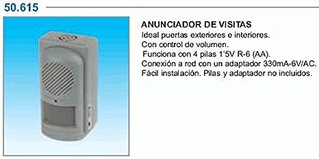 ElectroDH 50615 DH AVISADOR VISITAS-Alarma