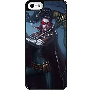 Custom personalized Protective Case for iPhone 5 - Game League of Legends LOL Vayne
