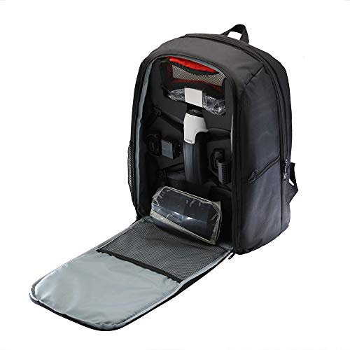 Dasuy for Parrot Bebop 2 Power FPV Drone Storage Case Carrying Case Portable Shoulder Bag Backpack Drone Accessories (Black)