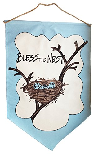 Bless This Nest Home and Garden Flag (Breakfast Magnolia)