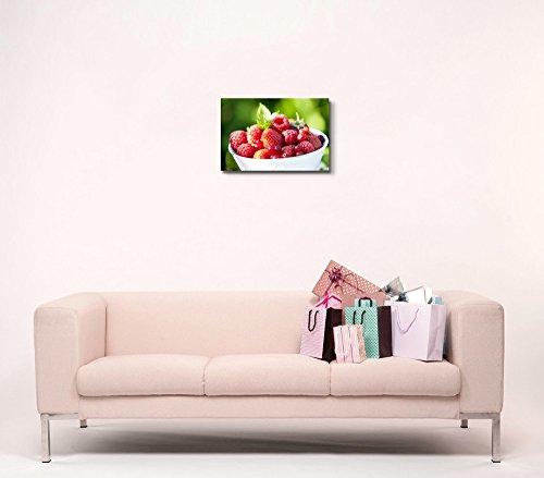 Closeup of Fresh Ripe Berries Fruits Photograph Wall Decor
