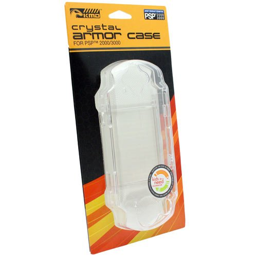 Psp Screen Armor - PSP 2000/3000 Crystal Armor Case