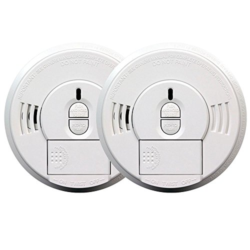 Kidde 21027512 Battery Operated Twin i9070 Smoke Alarms with 2-Year Battery