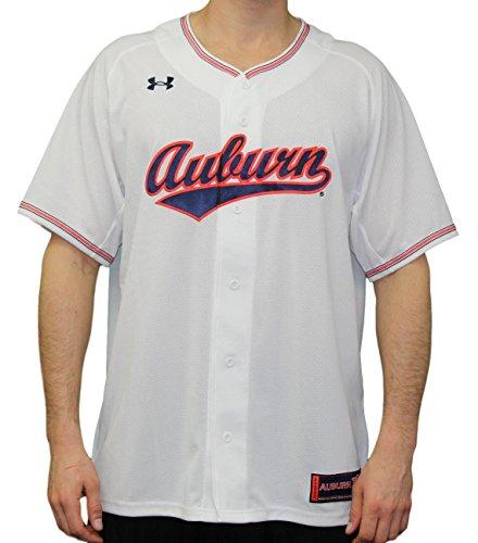Under Armour Auburn Tigers NCAA Men's Baseball Jersey - White