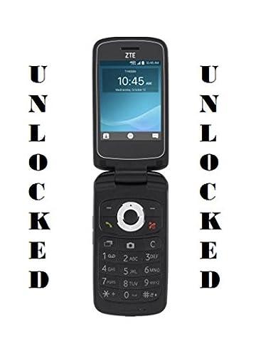 ZTE Cymbal Z-320 Unlocked 4G LTE Phone - T9 Fm Radio