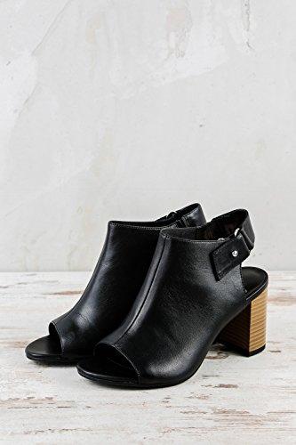 Vagabond VB-387-4337-001, Sandales pour Femme Noir Noir 4337-001 Noir